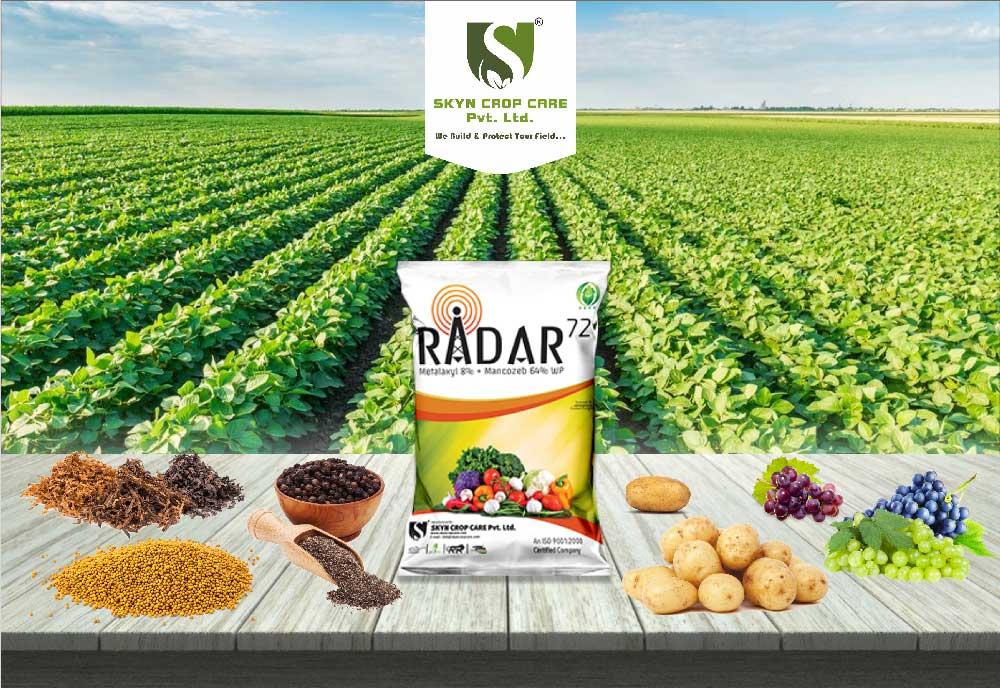 Radar 72 - Metalaxyl 8% + Mancozeb 64% WP